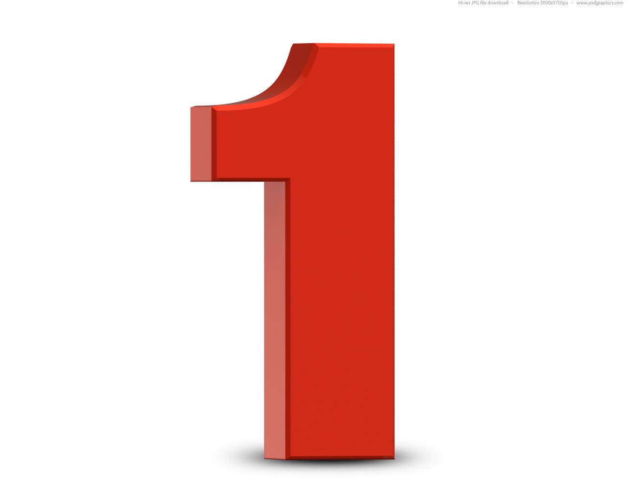 Número 1 um