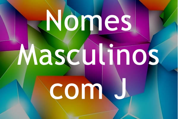 Nomes masculinos com J