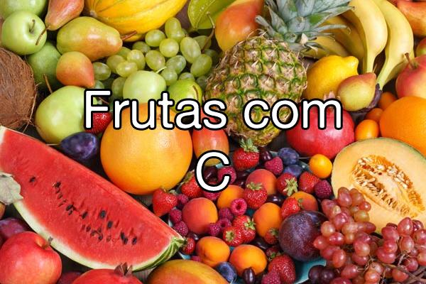 Frutas com C
