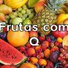 Frutas com Q