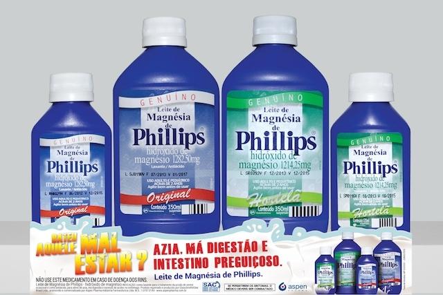Phillips' (leite de magnésia)