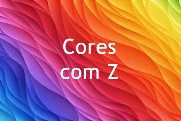 Cores com Z