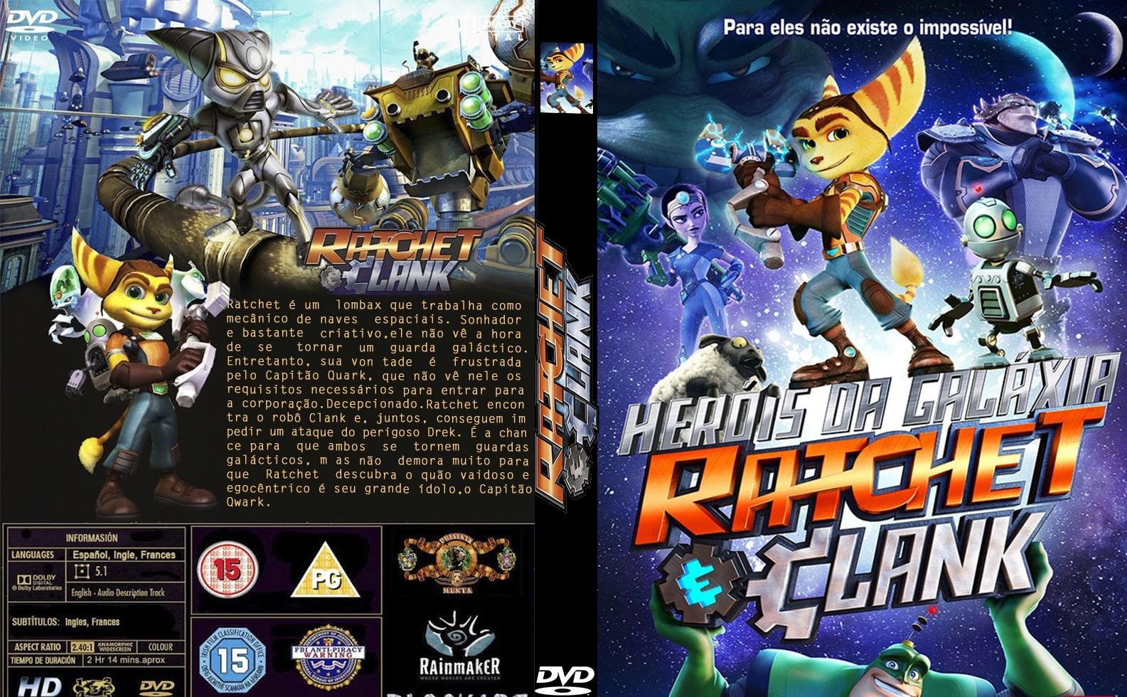Heróis da Galáxia: Ratchet e Clank