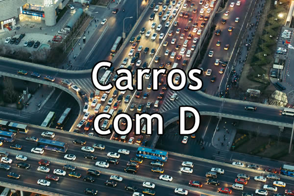 Carros com D