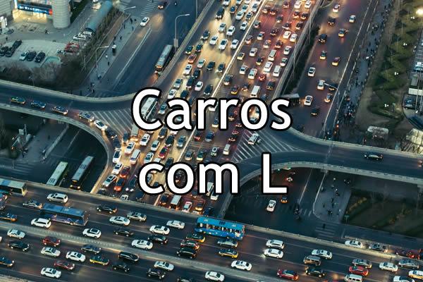 Carros com L