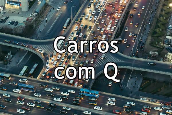 Carros com Q