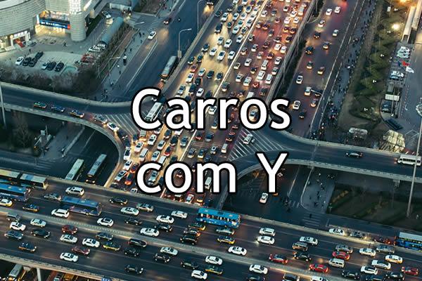 Carros com Y