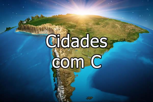 Cidades com C