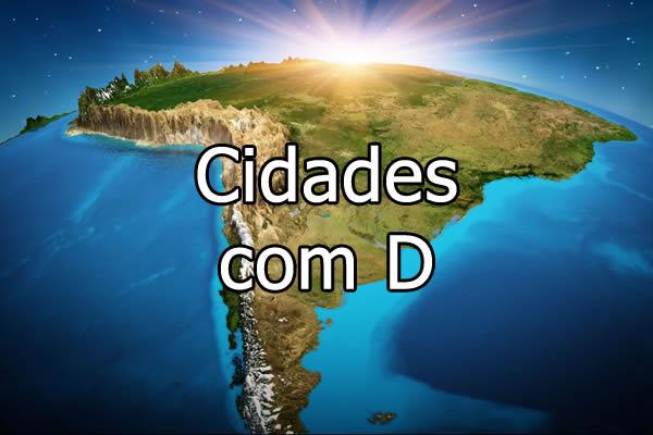 Cidades com D
