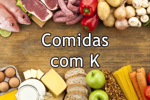 Alimentos com K