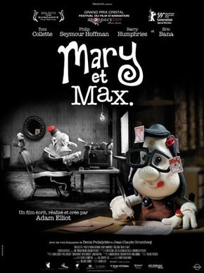 Mary e Max - Uma Amizade Diferente