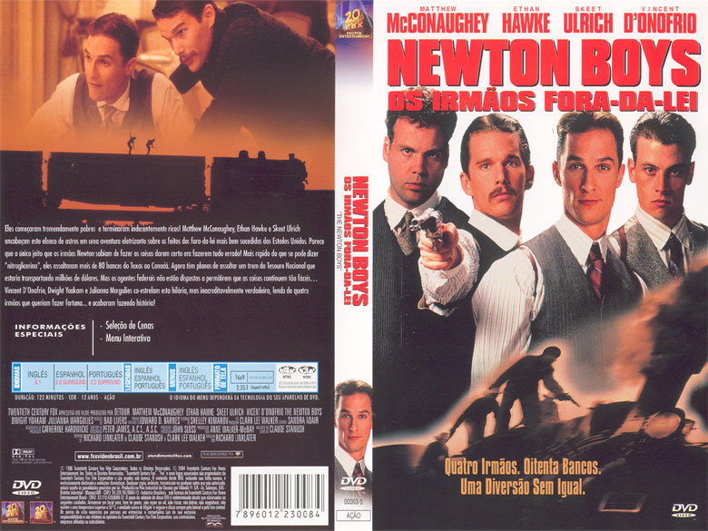 Newton Boys - Irmãos Fora-da-Lei