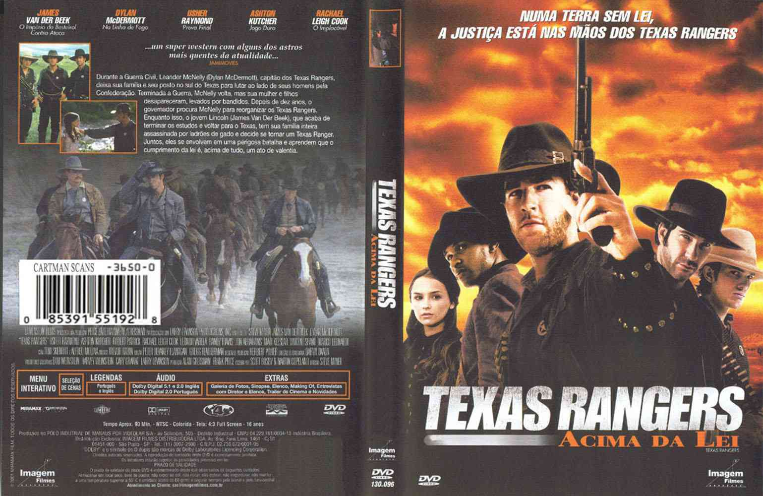 Texas Rangers - Acima da Lei