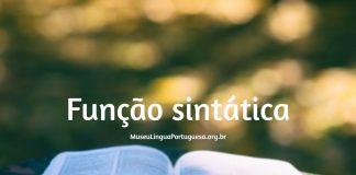 Função Sintática