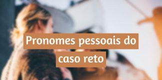 Pronomes pessoais do caso reto