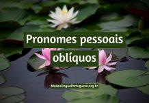 pronomes pessoais oblíquos